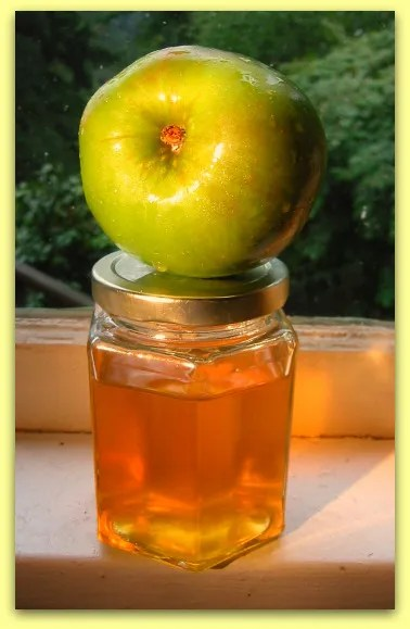 Apple jelly with Bramley's Seedling Apple