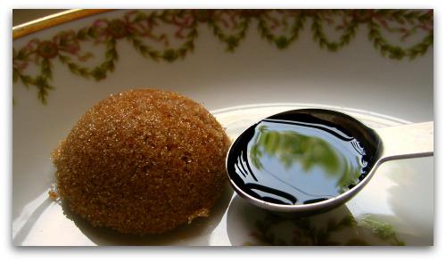 brown sugar and basalmic vinegar