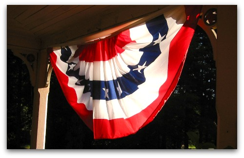 front porch bunting