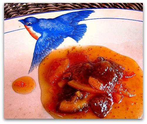 bluebird of happiness plate