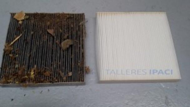 mantenimiento Filtro polen