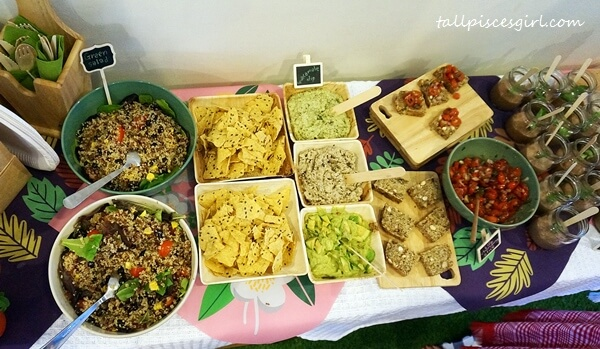 It's a feast at Organica Lifestyle!