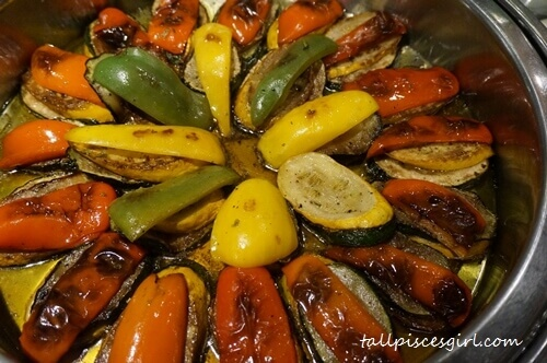 Grilled Vegetables with Chimichurri Sauce (Argentina)