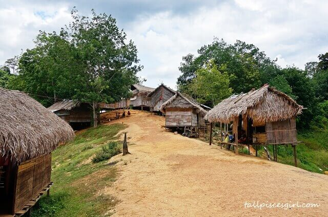 This is how the small aboriginal village looks like