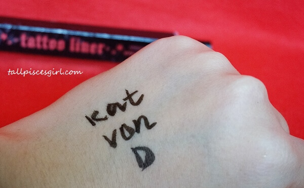 Kat Von D Tattoo Liner - Thick or thin? Your call.
