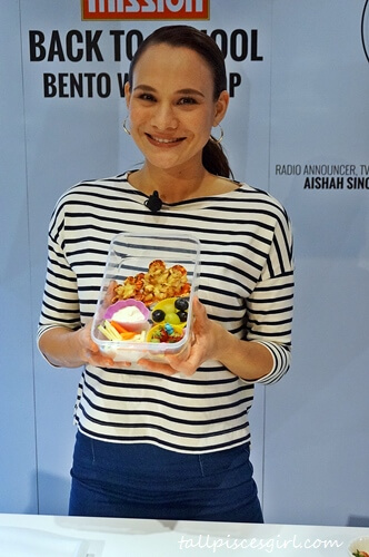 Mission Foods Back to School Bento Workshop with Aishah Sinclair