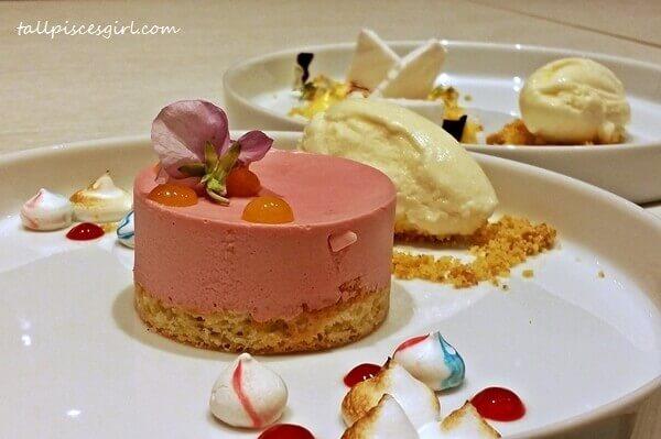 Dessert: Raspberry Decadence
