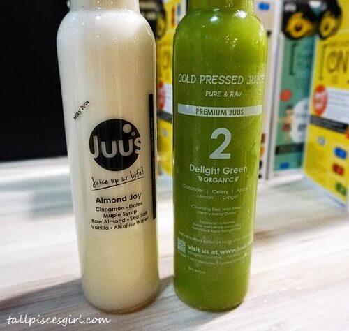 Juus: Almond Joy & Delight Green