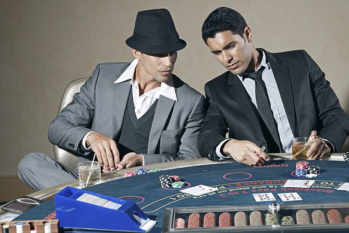 casino players