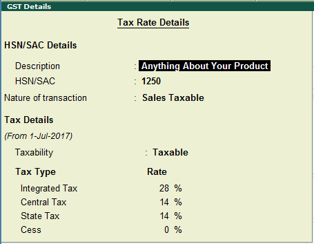 GST Accounting Entries in Tally - Sales and Purchases