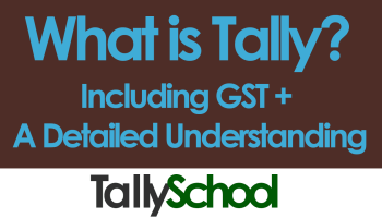 Tally Books with GST - 3 Books to learn Tally ERP 9 + 1