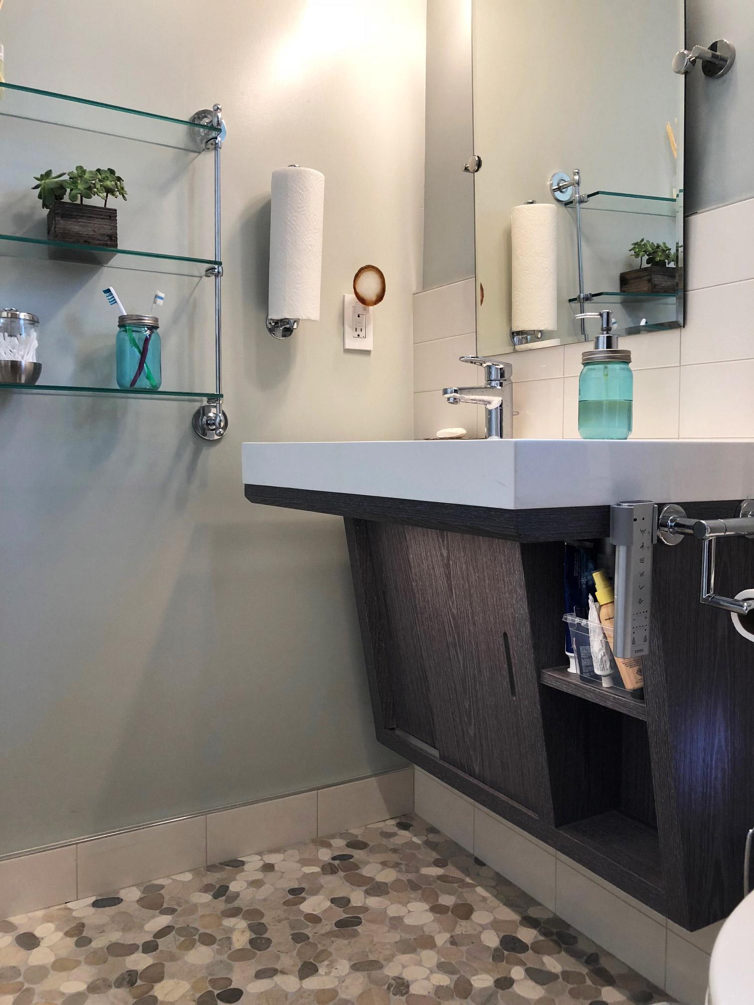 nicole brown s beautiful new bathroom