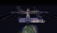Minecraft International Space Station