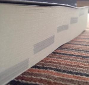 Einteilung in die fünf Bücher klar von außen möglich