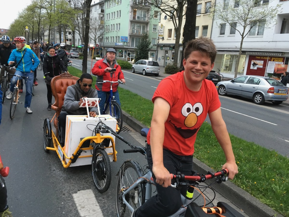 Critical Mass Wuppertal – April 2017