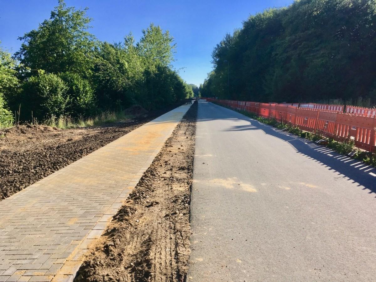 NBT: Fussweg zwischen A535 und Lüntenbeck