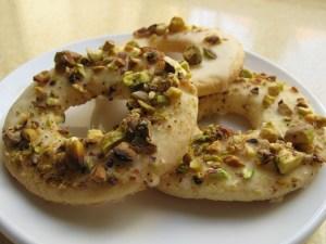 עוגיות לימון ופיסטוק