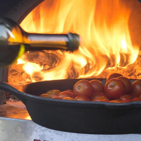 סוכריות של עגבניות שרי בשמן זית ומרווה