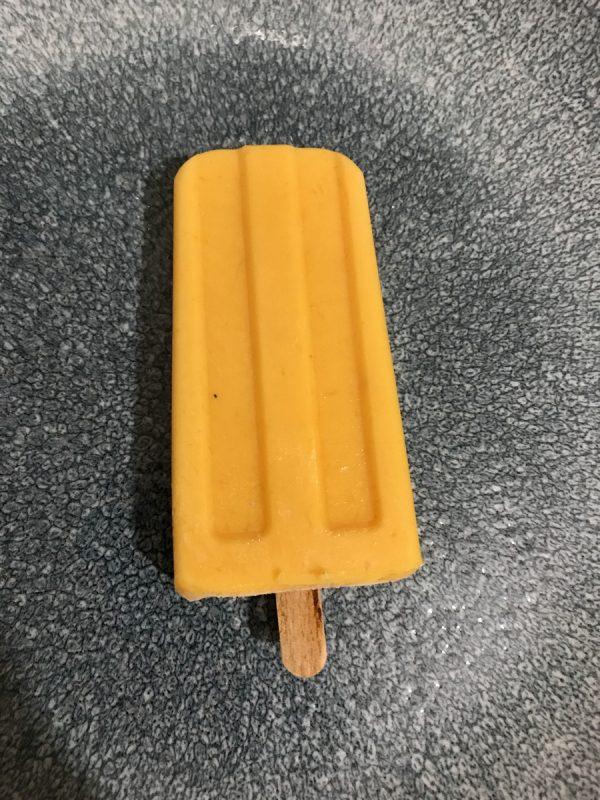 גלידת מנגו, גבינת עיזים וצ'ילי