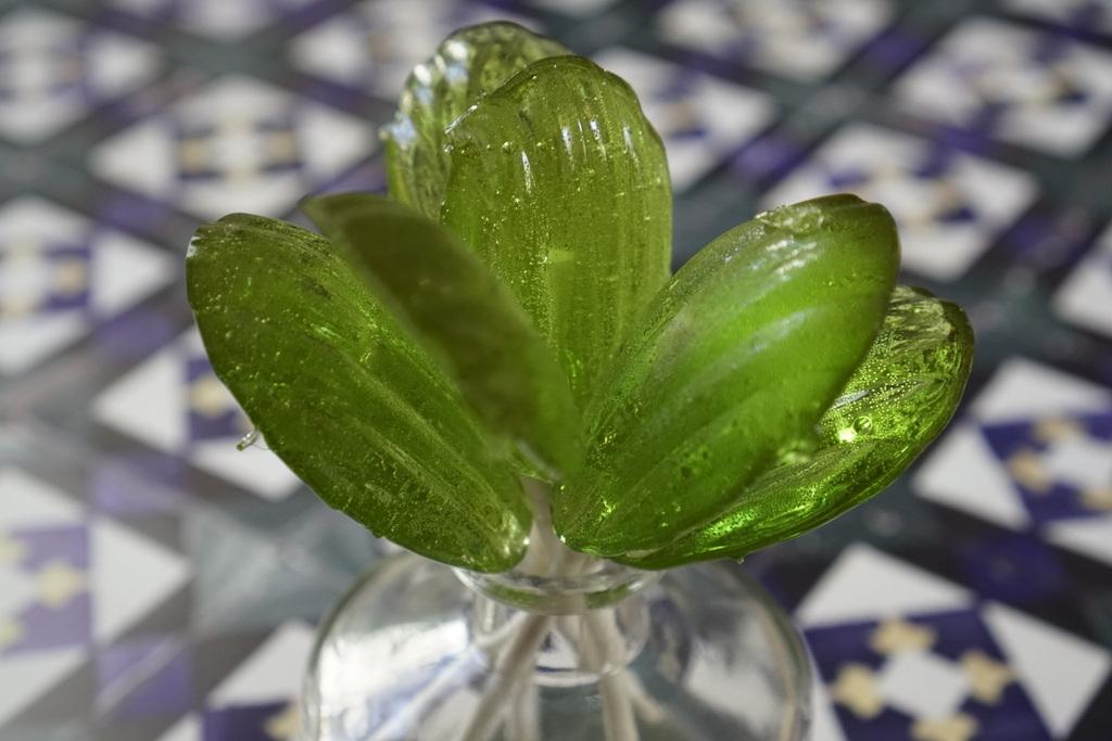 סוכריה על מקל תוצרת בית