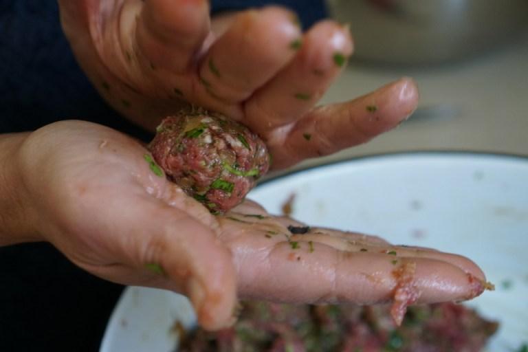 כידרור קציצות בשר