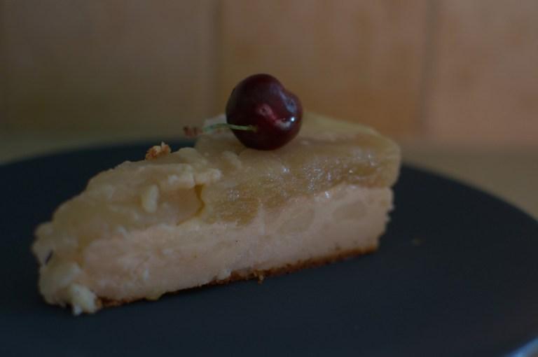 עוגת גבינה הפוכה