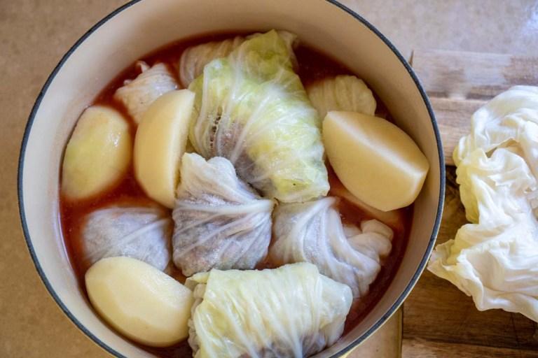 סיר של יפררי לפני בישול