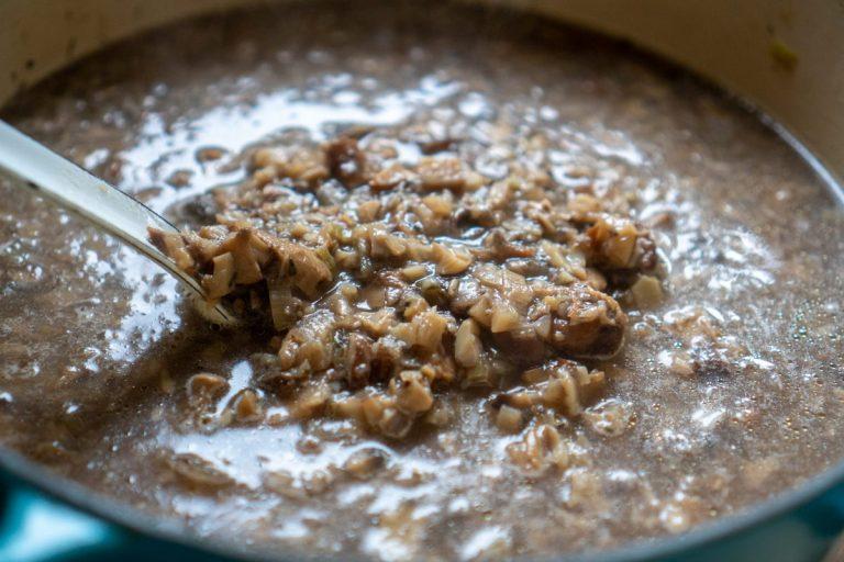 בישול וטחינת המרק