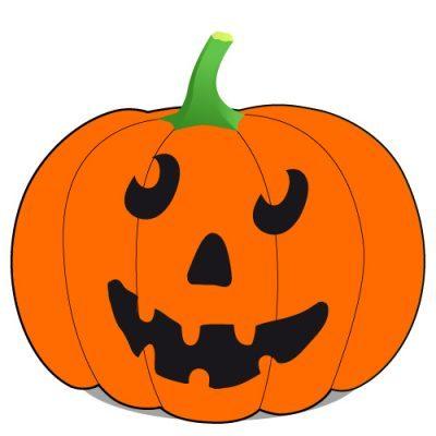 Halloween Kürbisgesichter schnitzen - Vorlagen zum