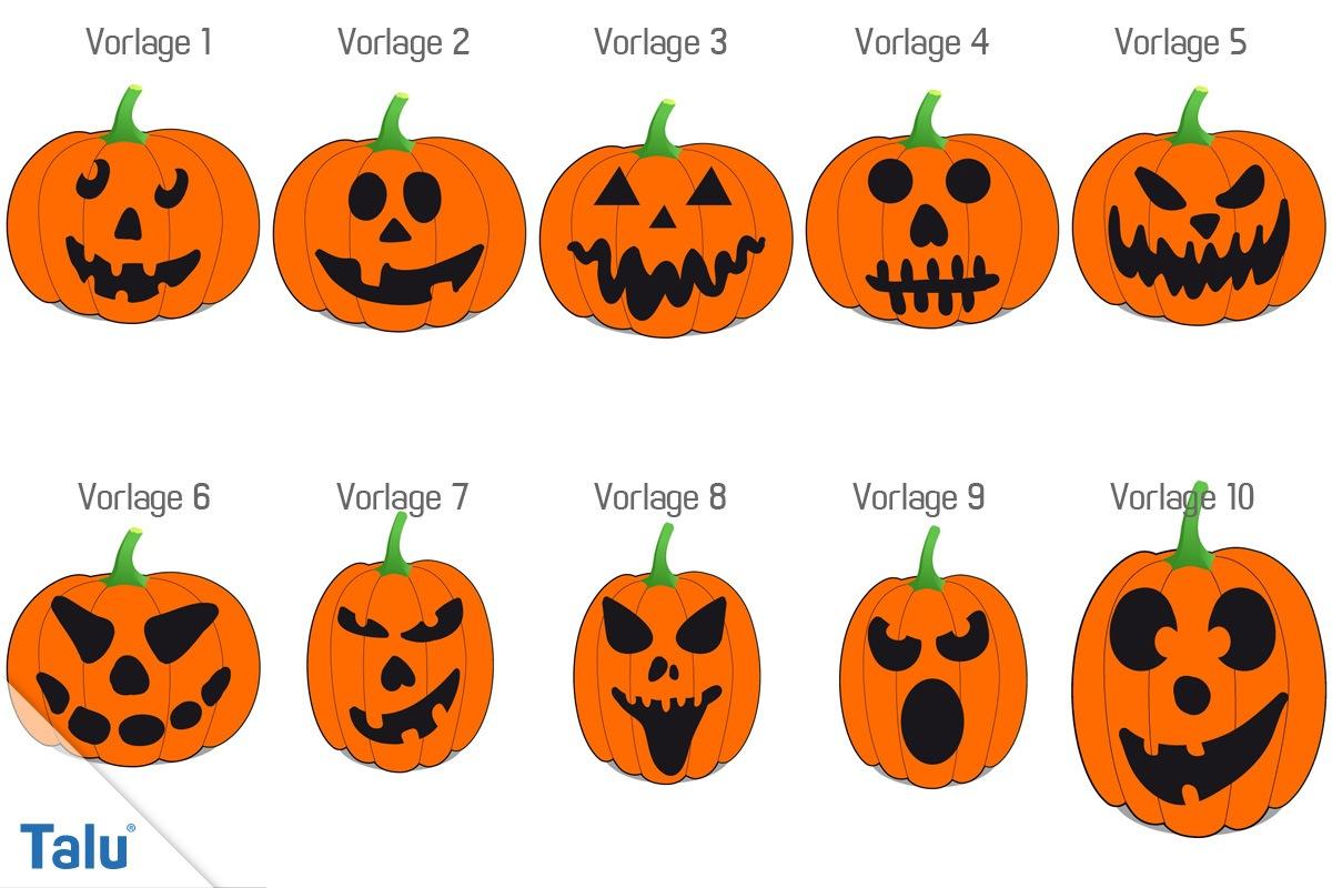 Malvorlage Kürbis Halloween Top Kostenlos Färbung Seite