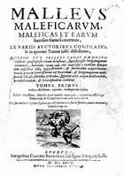 Das Titelblatt des Hexenhammers