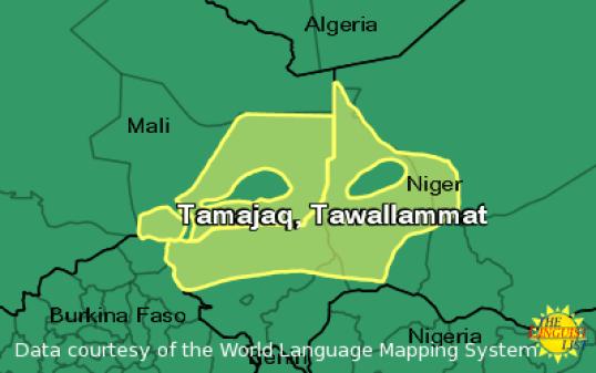 Tamajaq Language Region