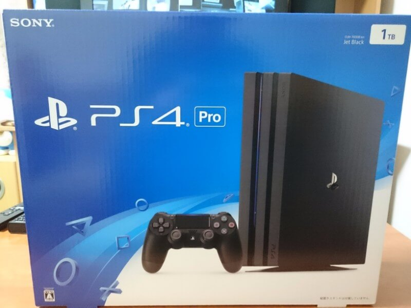 PS4 PRO購入