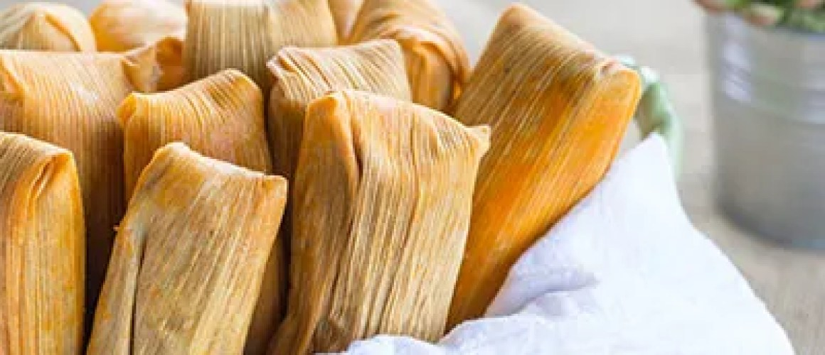 12 pack of Pork in red sauce Mexican Tamales