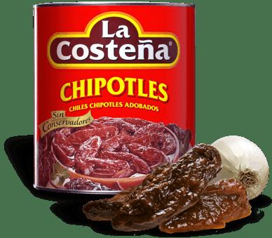 Mexican Chipotle peppers La Costena