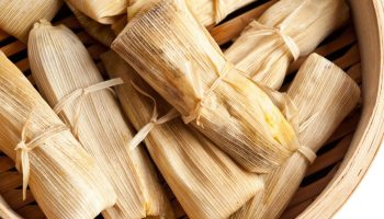 9 chicken in green tomatillo sauce Mexican tamales