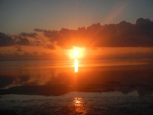Matemwe sunrises!