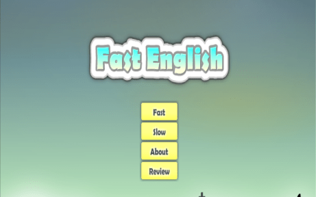 Fast English Vocabulary Game