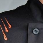design textile et slow design création motif et impression en sérigraphie pour l'atelier de Bossimé