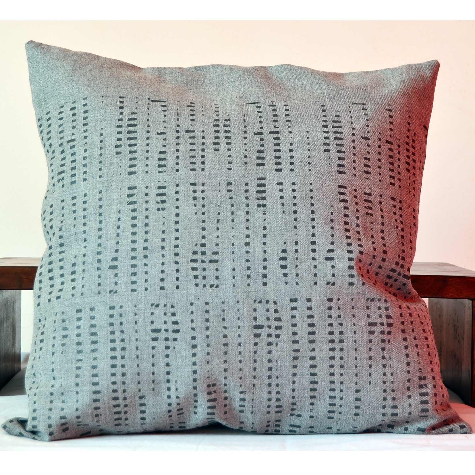 slowdesign laine grise imprimée