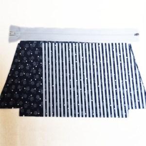 Trousse coton vintage kit