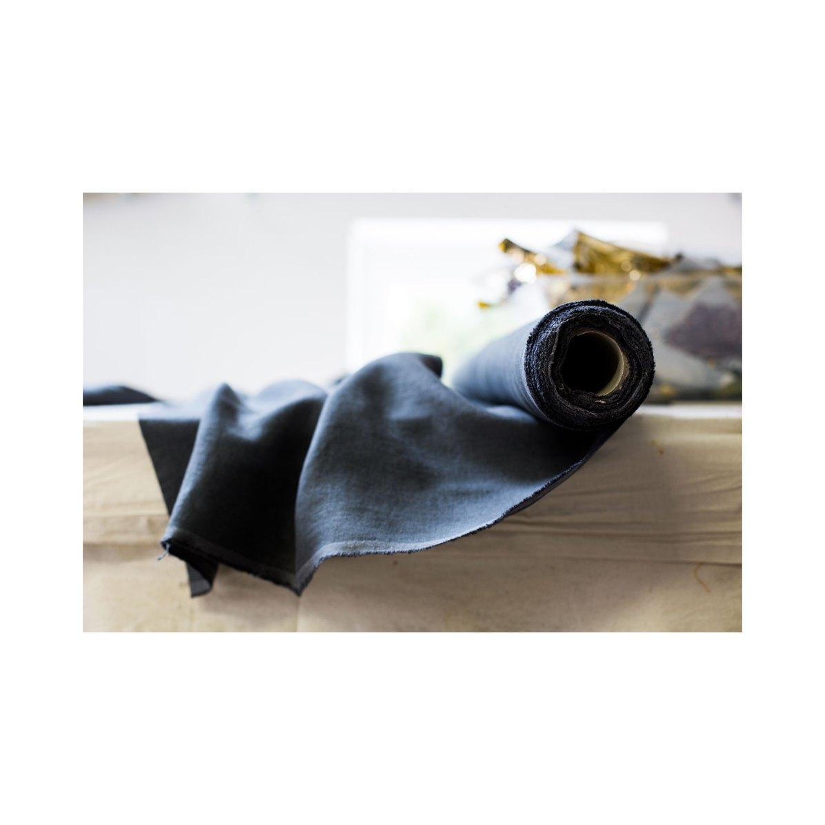 lin belge récolte de fin de stock