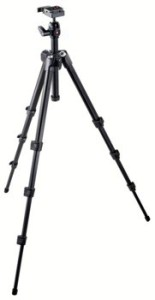 Manfrotto 7302YB Compact Tripod with Quick Release Ball Head