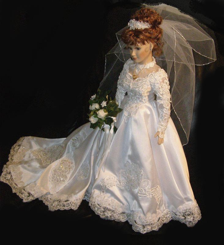 Custom Bridal Dolls