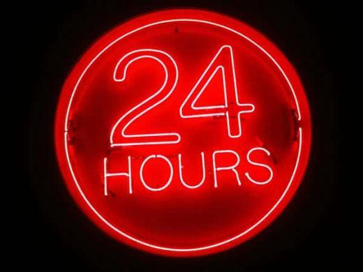 オンラインカジノは24時間営業