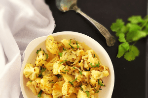 Cauliflower with Cumin and Cream