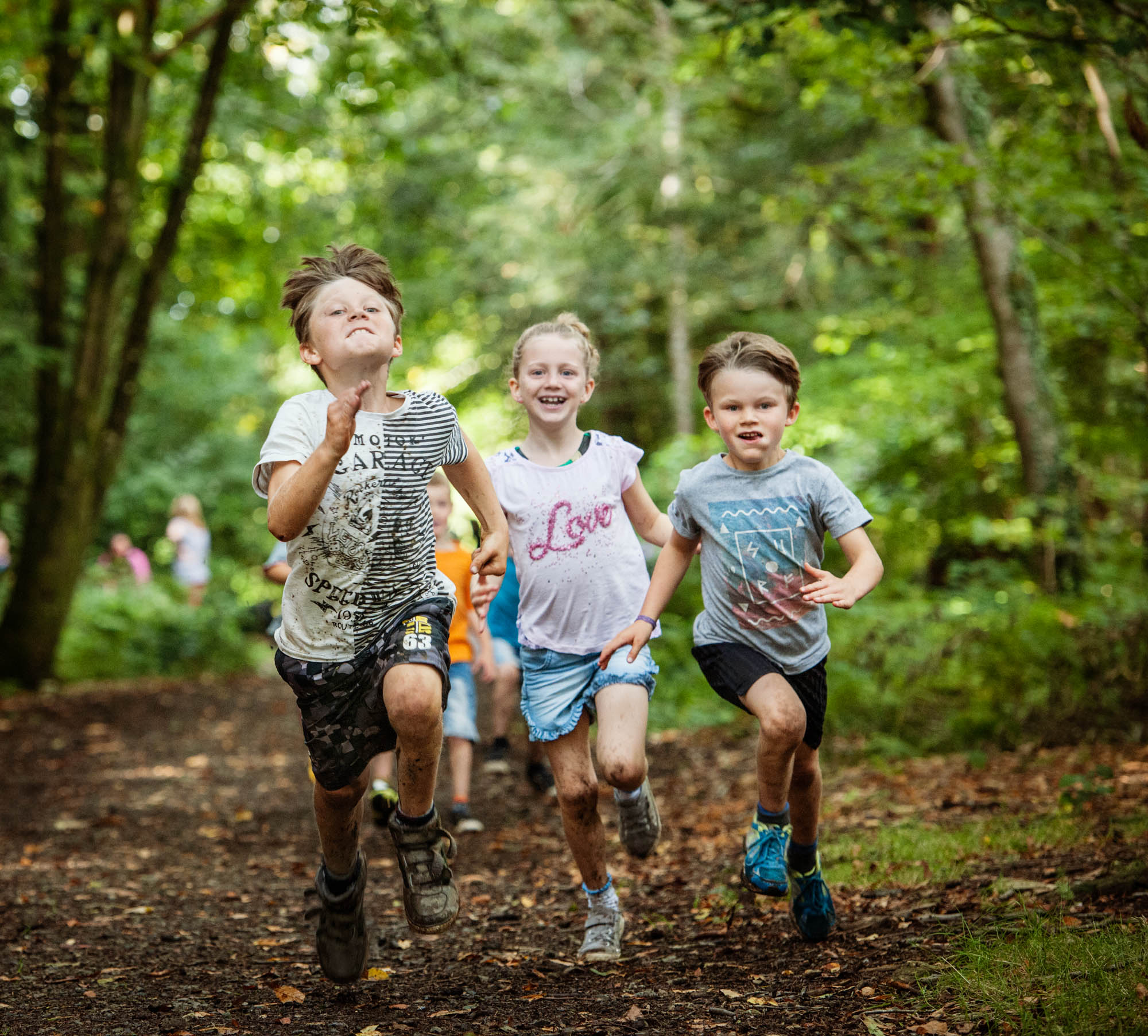 Why children need to get outdoors and play  even in the
