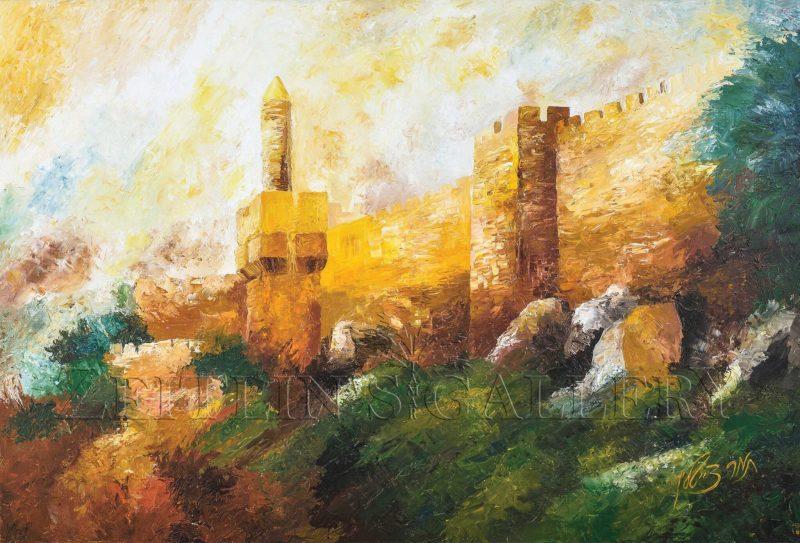 ציור חומות ירושלים