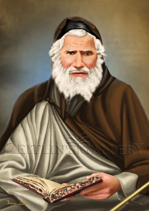 ציור האביר יעקב רבי יעקב אבוחצירא