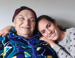 סבתא ואני